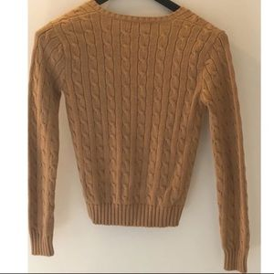 Polo by Ralph Lauren Sweaters - Polo Ralph Lauren Sport Cable Knit V-Neck Sweater